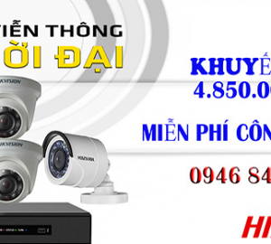 Lắp đặt trọn bộ 4 – 8 -16 camera hikvision 2mp giá rẻ