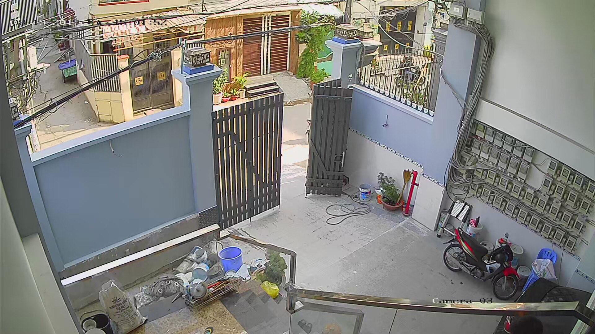 Hình ảnh lắp đặt trọn gói camera hikvision