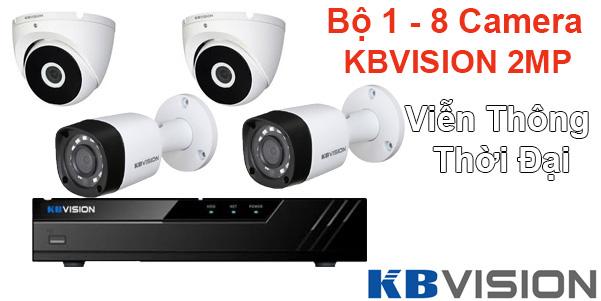 Bảng giá trọn bộ camera kbvision